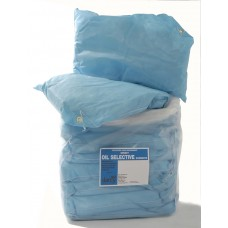 Oil absorbent cushions and pillows