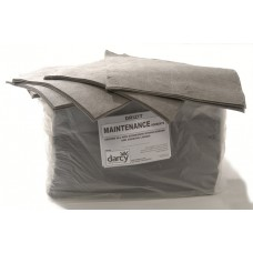 Maintenance absorbent pads and rolls
