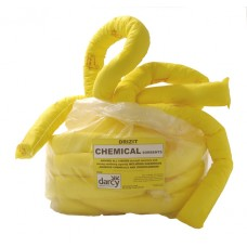 Chemical absorbent socks and booms